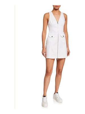Cinq a Sept Irena Zip-Front Dress