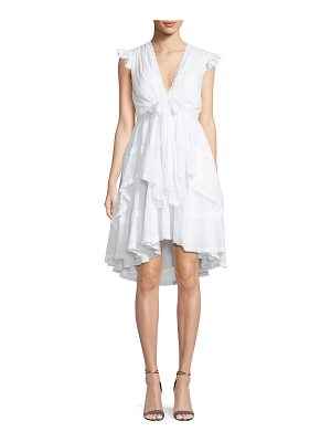 Cinq a Sept Jourdana Cotton Lace-Trim Dress
