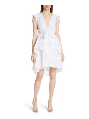 Cinq a Sept jourdana crochet trim dress