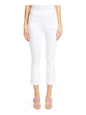 Cinq a Sept lindsay stretch twill crop slim pants