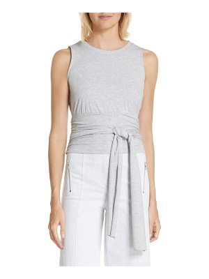 Cinq a Sept mayer knot waist tank top