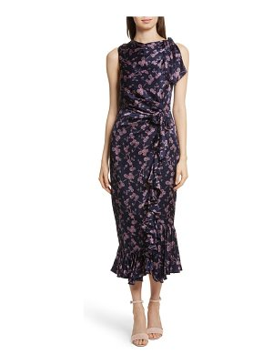 Cinq a Sept nanon knotted silk dress
