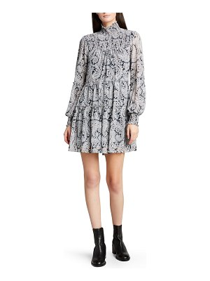 Cinq a Sept Rika Long-Sleeve Mini Dress