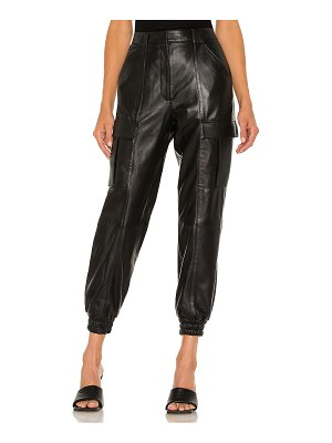 Cinq a Sept skinny kelly leather pants