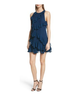 Cinq a Sept taghrid ruffle silk dress