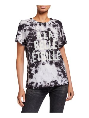 Cinq a Sept Under The Stars Tie-Dye Graphic Tee