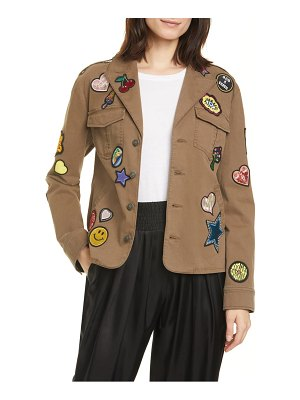 Cinq a Sept valley patch jacket