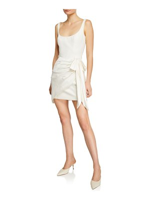 Cinq a Sept Waverly Sleeveless Wrap Dress