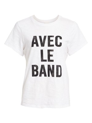 cinq à sept with the band short-sleeve tee