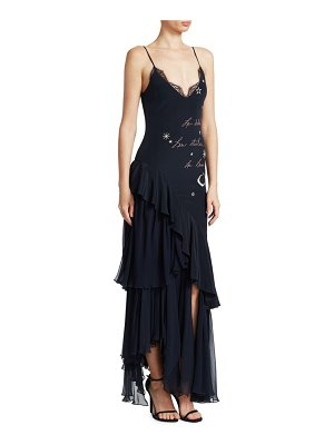 Cinq Sept Alexandria Embroidered Gown