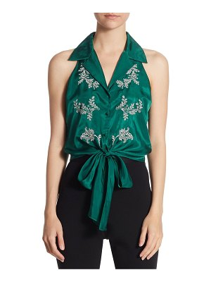 Cinq Sept Lola Embroidered Top