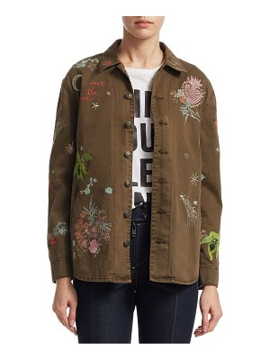 Cinq Sept Whimsical Embroidered Canyon Jacket