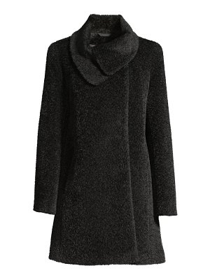 Cinzia Rocca icon wrap-neck coat