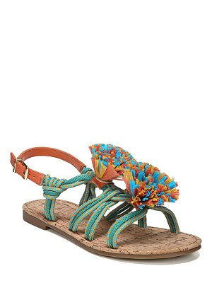 Circus by Sam Edelman Bice Fabric Flat Sandals