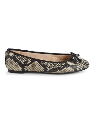 Circus by Sam Edelman Charlotte Embossed Faux Leather Flats