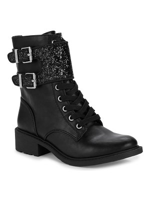 Circus by Sam Edelman Dorothy Glittered Combat Boots