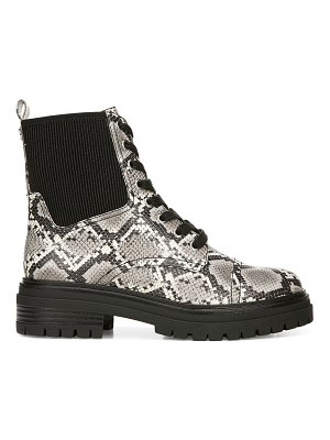 Circus by Sam Edelman Giovanny Snakeskin-Print Booties