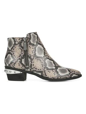 Circus by Sam Edelman Highland Snakeskin-Print Booties