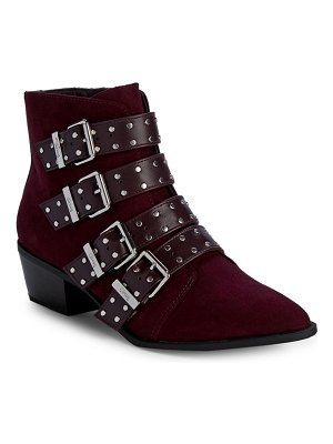 Circus by Sam Edelman Hutton Multi-Buckle Ankle Booties
