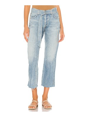 Citizens of Humanity belted emery high rise relaxed crop. - size 23 (also