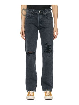 Citizens of Humanity black emery high-rise relaxed jeans