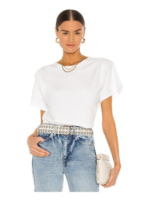 Citizens of Humanity cecilia padded shoulder knit top