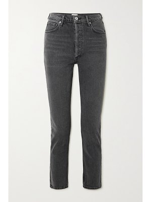 Citizens of Humanity charlotte cropped high-rise straight-leg jeans