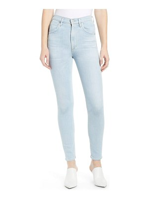 Citizens of Humanity chrissy high waist ankle skinny jeans