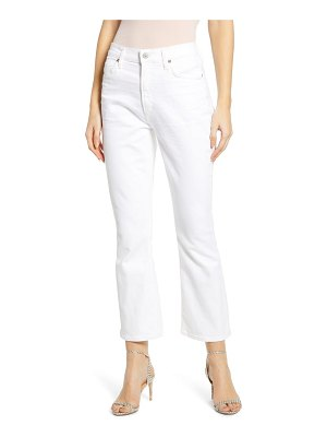Citizens of Humanity demy high waist crop flare jeans