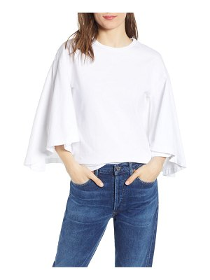 Citizens of Humanity flutter batwing sleeve cotton top