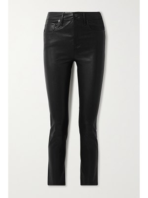 Citizens of Humanity harlow leather slim-leg pants