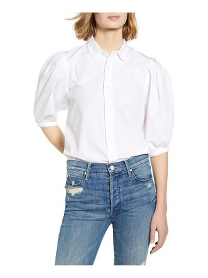 Citizens of Humanity ines puff sleeve shirt