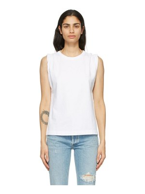 Citizens of Humanity jordana rolled sleeve tank top