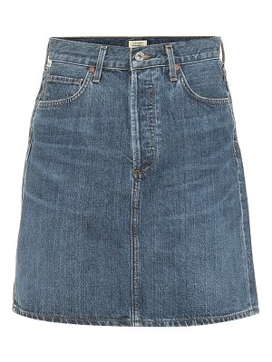 Citizens of Humanity Lorelle high-rise denim miniskirt