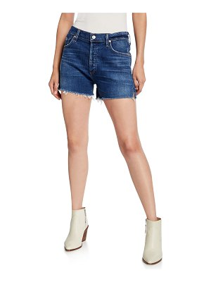 Citizens of Humanity Marlow Frayed Easy Denim Shorts