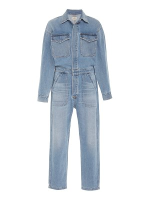Citizens of Humanity marta cropped denim jumpsuit