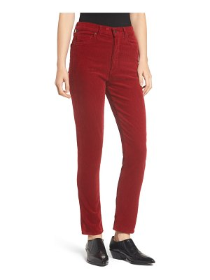 Citizens of Humanity olivia high waist ankle slim corduroy jeans