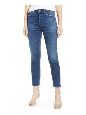 Citizens of Humanity olivia high waist crop slim jeans
