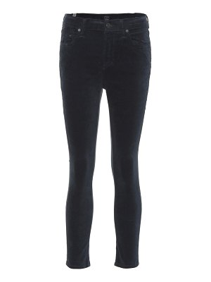 Citizens of Humanity Rocket Crop velvet jeans