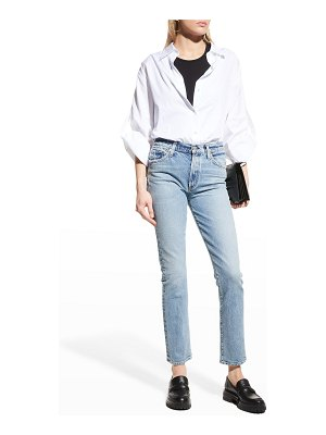 Citizens of Humanity Skyla Mid-Rise Cigarette Jeans