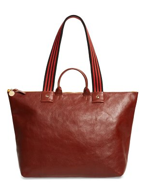 Clare V. claire v. le zip leather tote