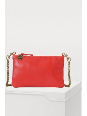 Clare V Clutch with chain