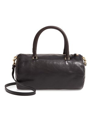 Clare V. grande pepe leather barrel bag