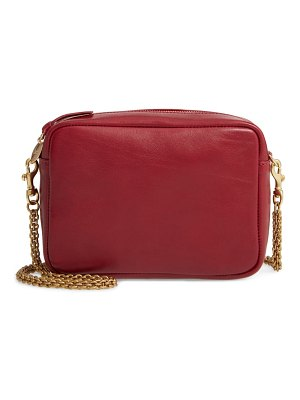Clare V. leather crossbody bag