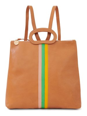 Clare V. marcelle leather tote backpack