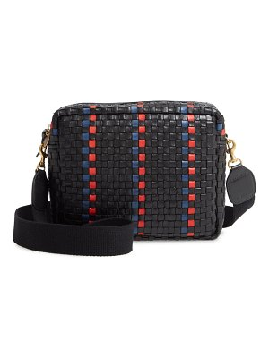 Clare V. marisol woven leather crossbody bag