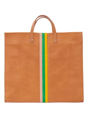 Clare V. simple leather tote