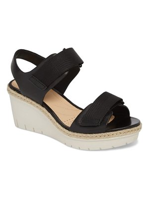 Clarks clarks palm shine wedge sandal