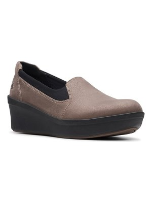 Clarks clarks step rose moon wedge loafer