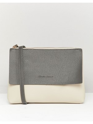 Claudia Canova flap detail body bag with zip top fastening with detachable zip